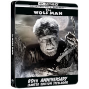 The Wolf Man - 4K Ultra HD Zavvi Exclusive 80th Anniversary Limited Edition Steelbook