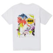 Batman Collage Unisex T-Shirt - White
