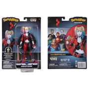 Noble Collection DC Comics: Heroes and Villains Harley Quinn Rebirth BendyFig 7.5 Inch Action Figure