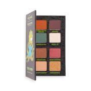 """The Simpsons Makeup Revolution Mini Shadow Palette """"Alien Maggie"""