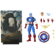 Hasbro Marvel Legends Series 1 Captain America Action Figure