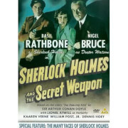 SHERLOCK HOLMES AND THE SECRET WEAPON/THE MAN(DVD)