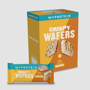 Myprotein Protein Wafers, Peanut Butter, 10 x 40g