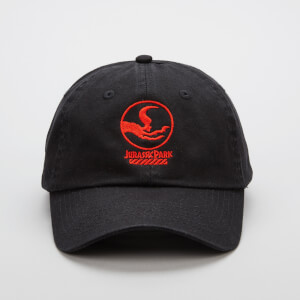 Jurassic Park Priimal Raptor Crew Embroidered Cap - Black