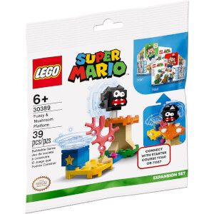 LEGO® Super Mario™: Fuzzy & Mushroom Platform Expansion Set (30389)