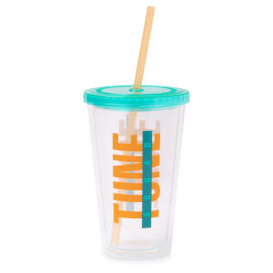 Space Jam Drinks Cup with Straw