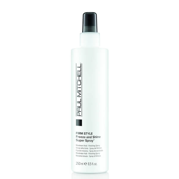 Paul Mitchell Firm Style Freeze And Shine Super Spray (250ml) Cosmetics