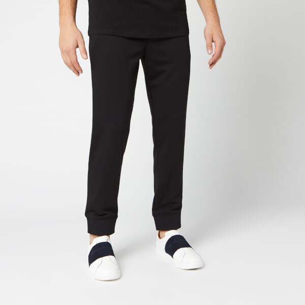 armani exchange men's small logo sweat pants - black - m - black