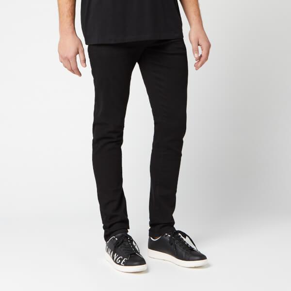 armani exchange men's 5 pocket skinny jeans - black - w36/l32 - black