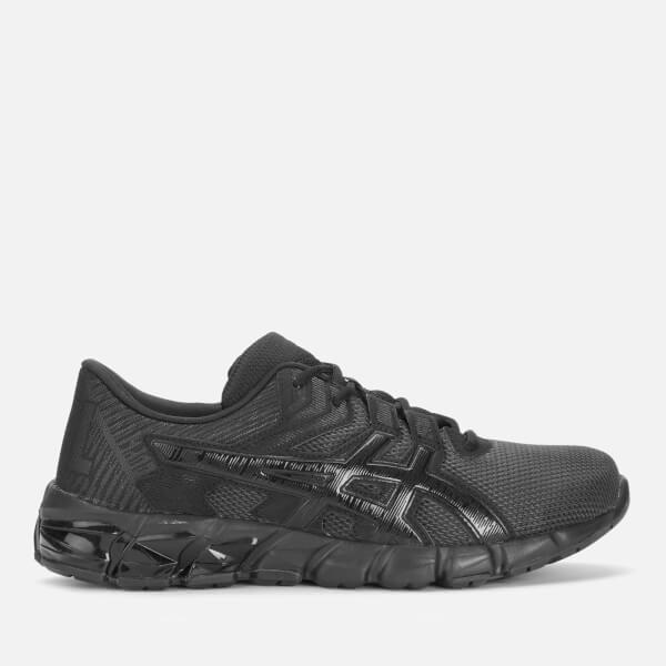 asics men's gel-quantum 90 2 trainers - graphite grey/black - uk 8