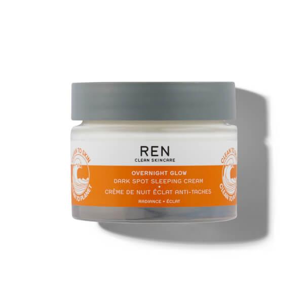 Ren Clean Skincare Overnight Glow Dark Spot Sleeping Cream 50ml