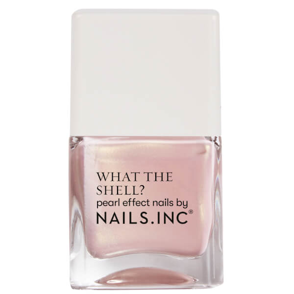 Nails Inc. WHAT THE SHELL SHELLS ALOUD TOP COAT 14ML
