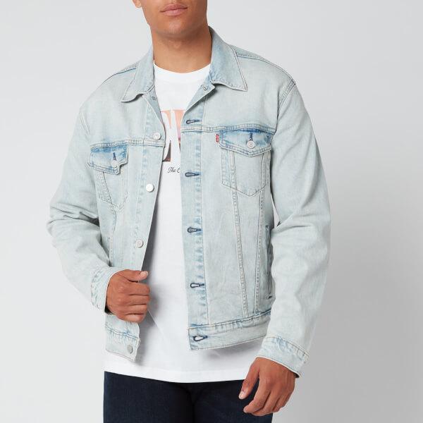 levi's men's trucker jacket - spirit - s
