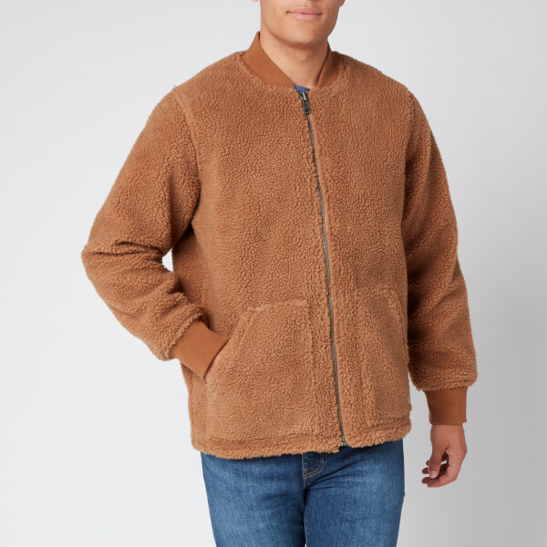 levi's men's hunters point worker jacket - toasted coconut - s