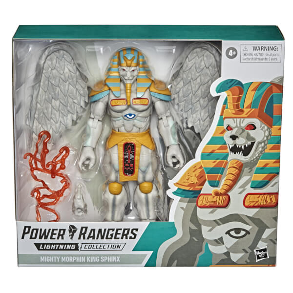 Hasbro Power Rangers Lightning Collection Monsters Mighty Morphin King Sphinx Action Figure