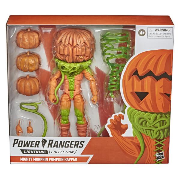 Hasbro Power Rangers Lightning Collection Monsters Mighty Morphin Pumpkin Rapper Action Figure