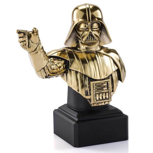 Royal Selangor Star Wars Limited Edition Gilt Darth Vader Bust