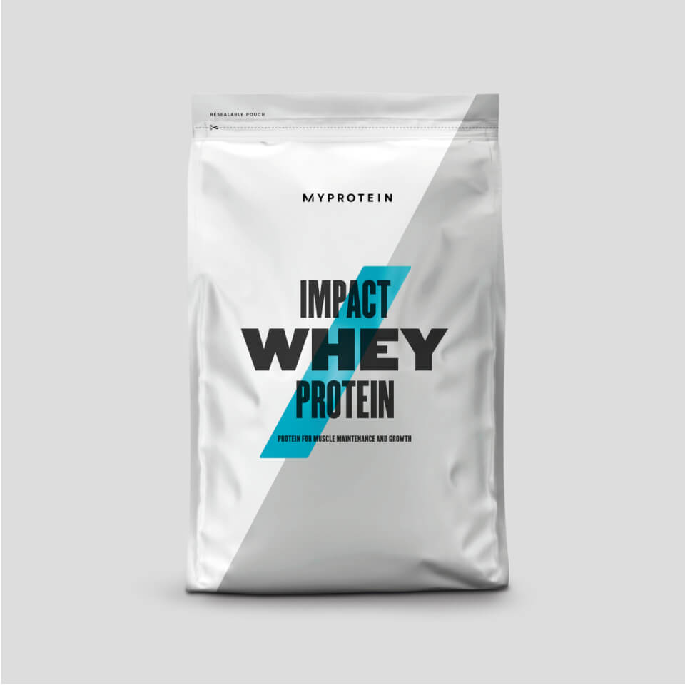 Impact Whey Protein - 2.5kg - New - Natural Strawberry