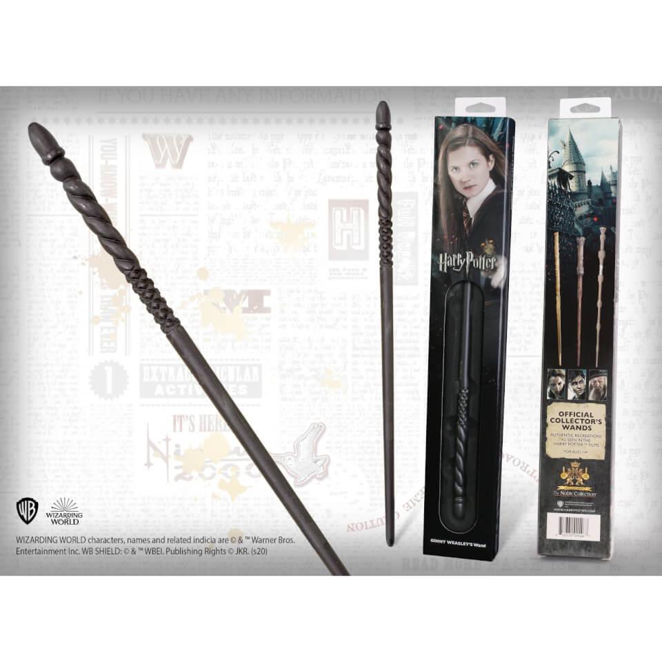 Nützlichfanartikel - Harry Potter Ginny Weasley's Wand with Window Box - Onlineshop Sowas Will Ich Auch