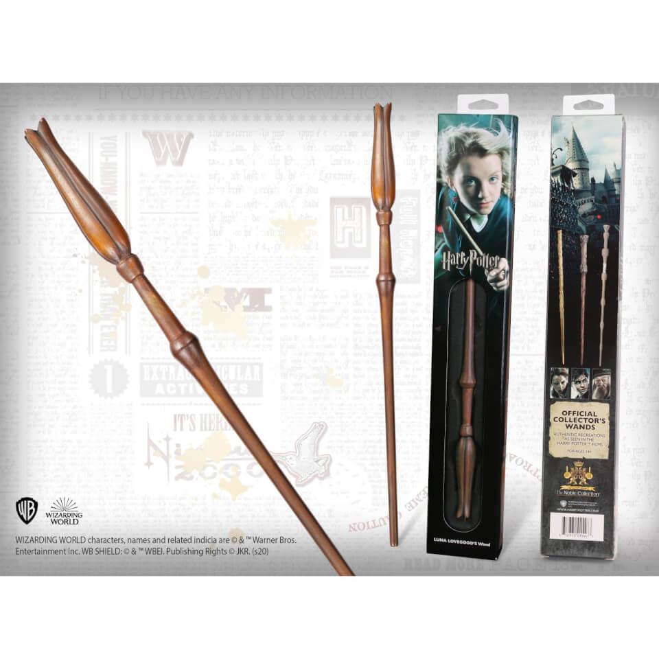 Nützlichfanartikel - Harry Potter Luna Lovegood's Wand with Window Box - Onlineshop Sowas Will Ich Auch