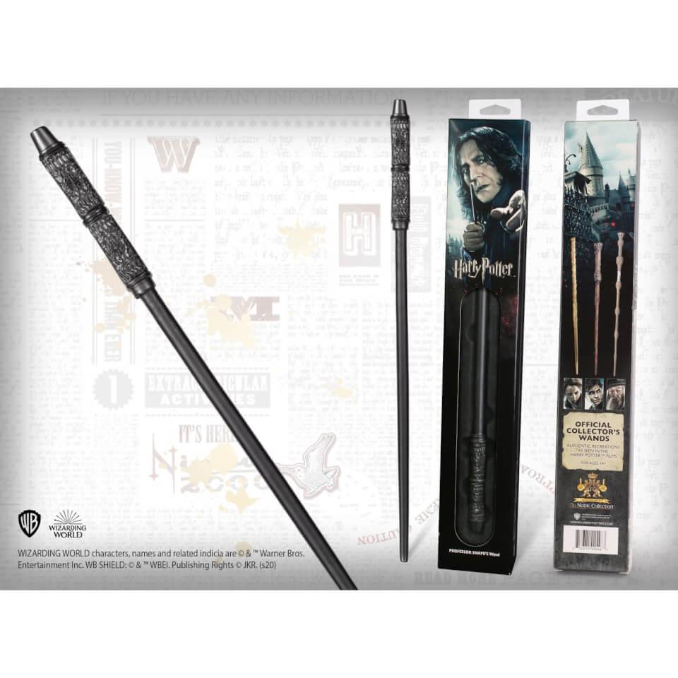 Nützlichfanartikel - Harry Potter Professor Severus Snape's Wand with Window Box - Onlineshop Sowas Will Ich Auch