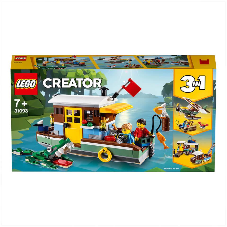 Ausgefallengadgets - LEGO® Creator 3 in 1 Sets Hausboot (31093) - Onlineshop Sowas Will Ich Auch