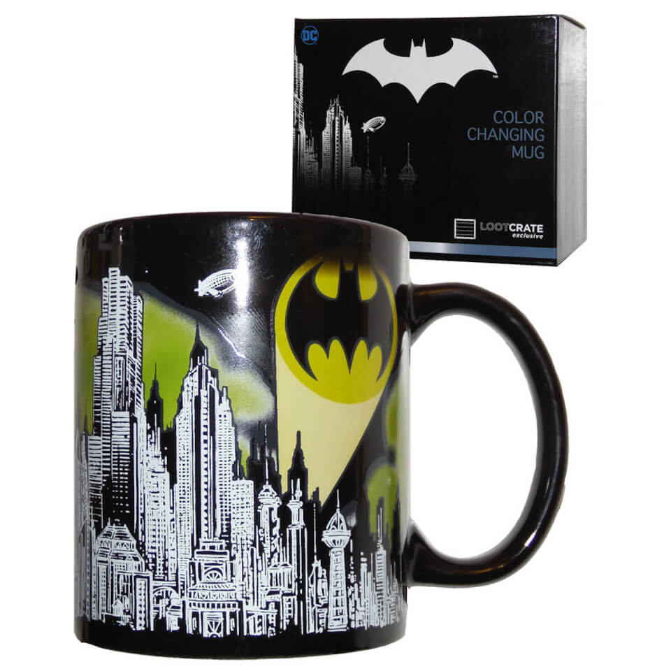 Nützlichfanartikel - DC Comics Batman Gotham Bat signal Colour Change Mug - Onlineshop Sowas Will Ich Auch