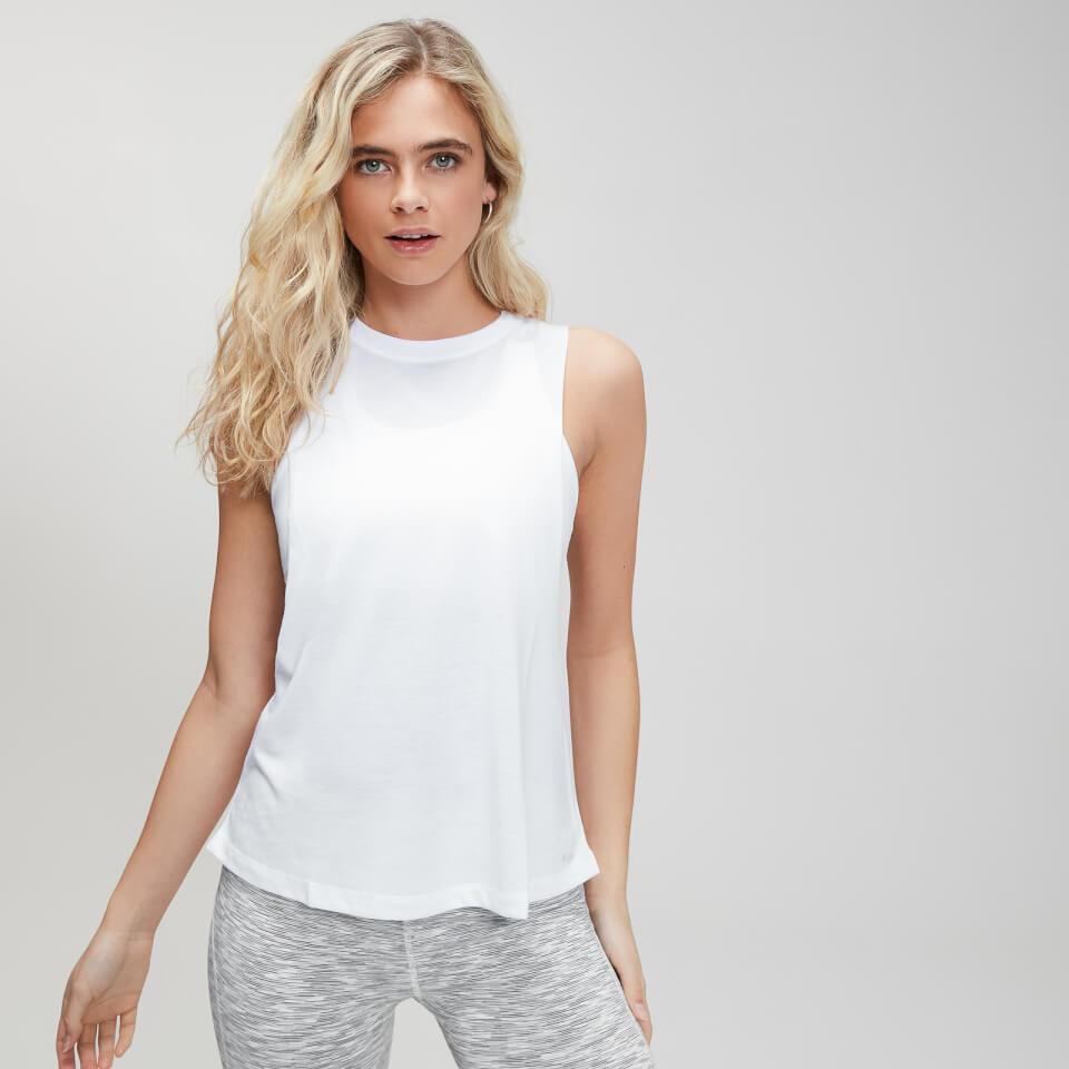 MP Essentials sporthemd voor dames met laag uitgesneden armsgaten - Wit - XXS