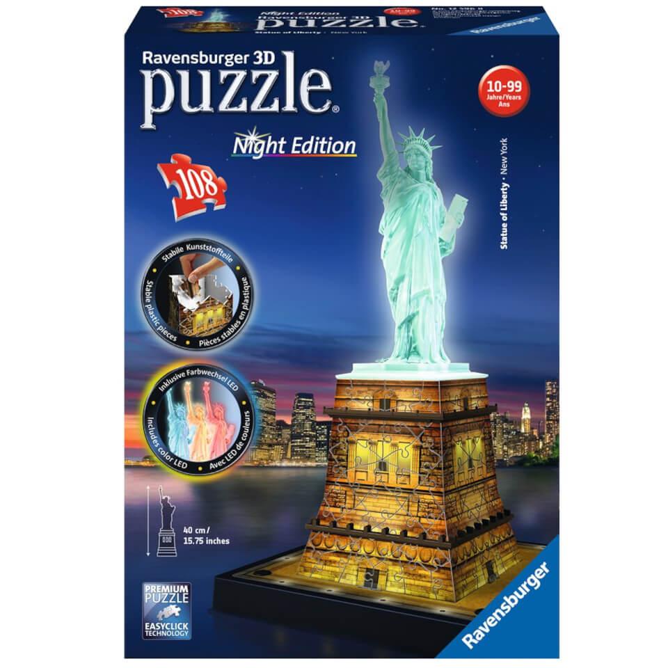 Ausgefallenkreatives - Ravensburger Statue of Liberty Night Edition 3D Puzzle (216 Pieces) - Onlineshop Sowas Will Ich Auch