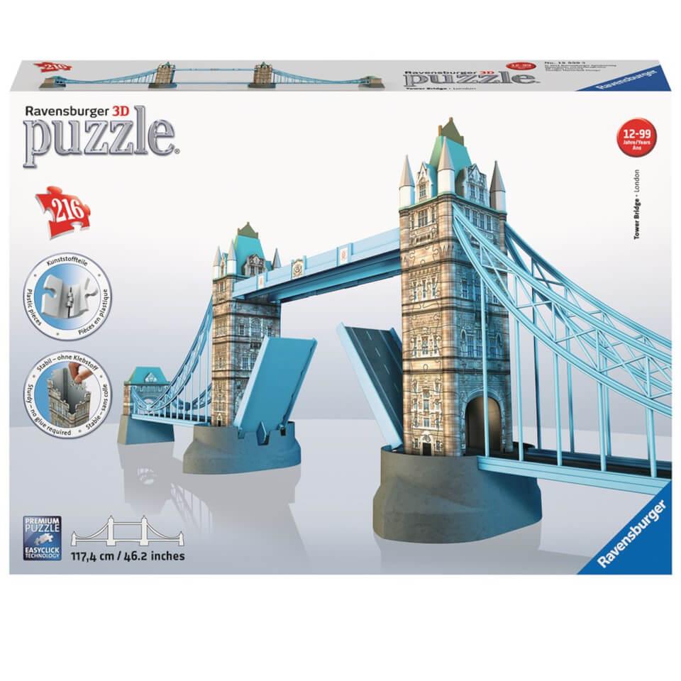 Ausgefallenkreatives - Ravensburger Tower Bridge 3D Jigsaw Puzzle (216 Pieces) - Onlineshop Sowas Will Ich Auch