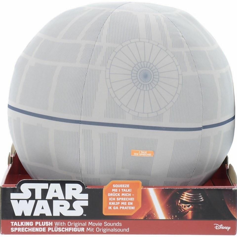 """Nützlichfanartikel - Star Wars Deluxe Plush 12"""" Talking Light Up Death Star - Onlineshop Sowas Will Ich Auch"""