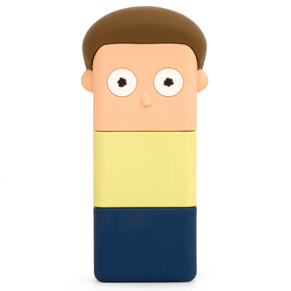 Ausgefallengadgets - Rick Morty 'Morty' PowerSquad Powerbank - Onlineshop Sowas Will Ich Auch