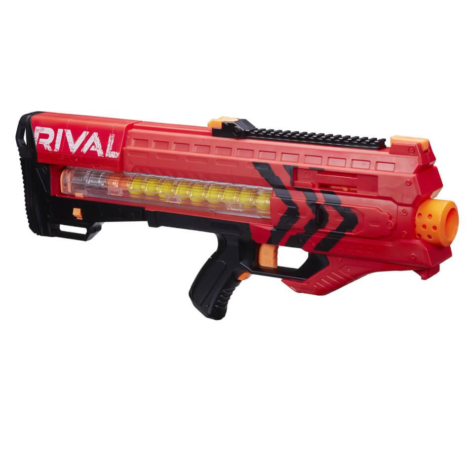 Ausgefallengadgets - Nerf Rival Zeus MXV 1200 Soft Dart Nerf Gun – Rot - Onlineshop Sowas Will Ich Auch
