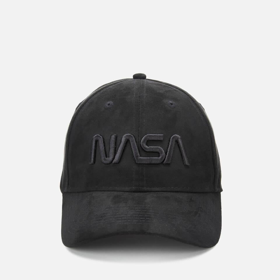NASA 3D Embroidered Suede Cap - Schwarz   Accessoires > Caps   NASA