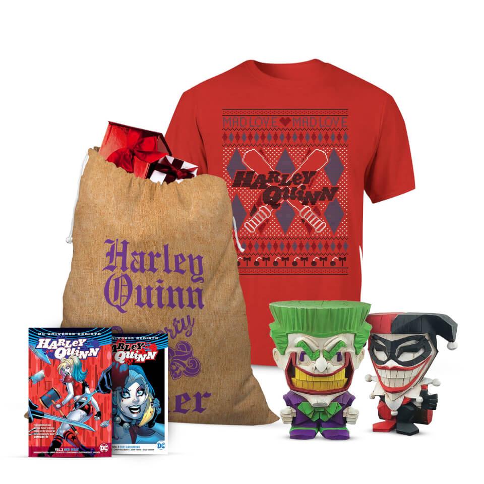Nützlichfanartikel - DC Comics Joker and Harley Officially Licensed Christmas Bundle XL - Onlineshop Sowas Will Ich Auch