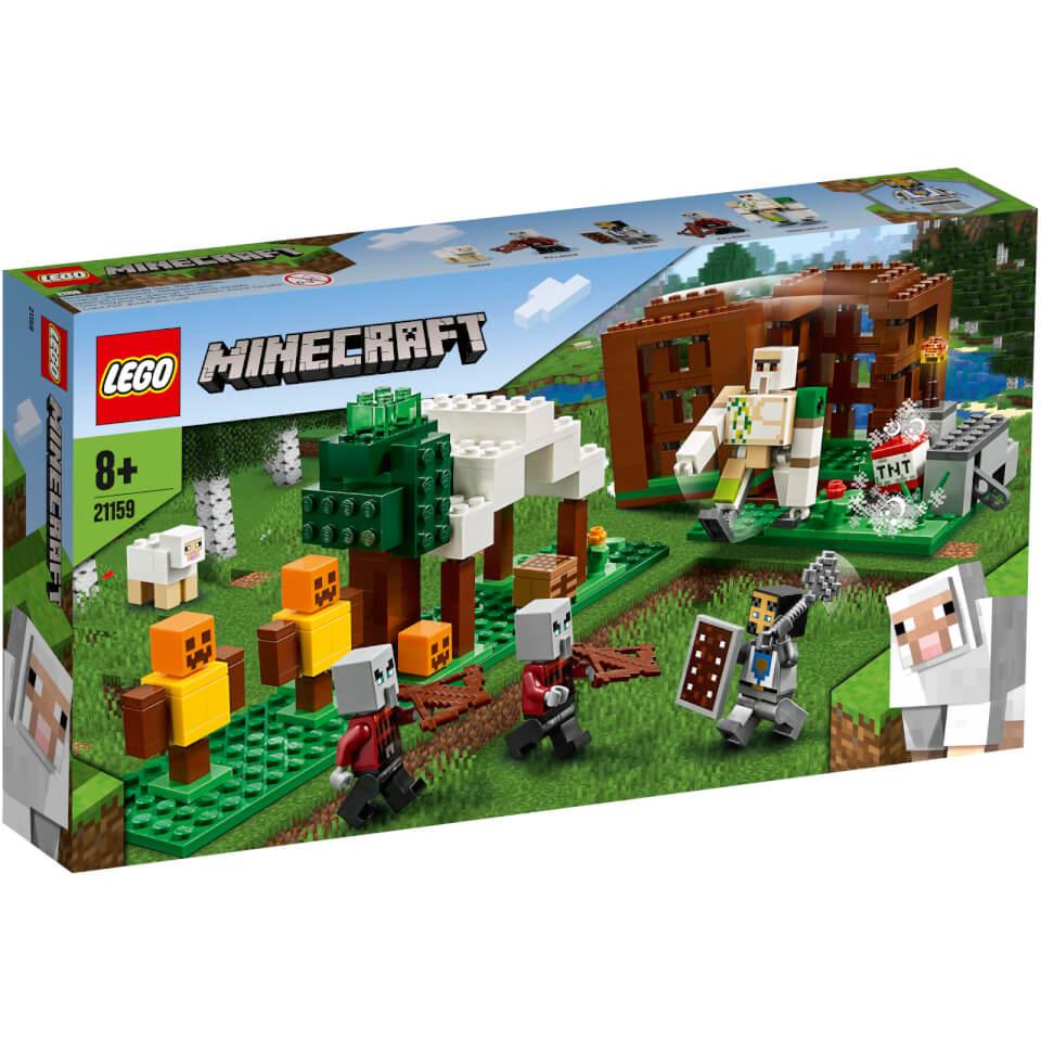 Nützlichfanartikel - LEGO Minecraft Der Plünderer Außenposten (21159) - Onlineshop Sowas Will Ich Auch