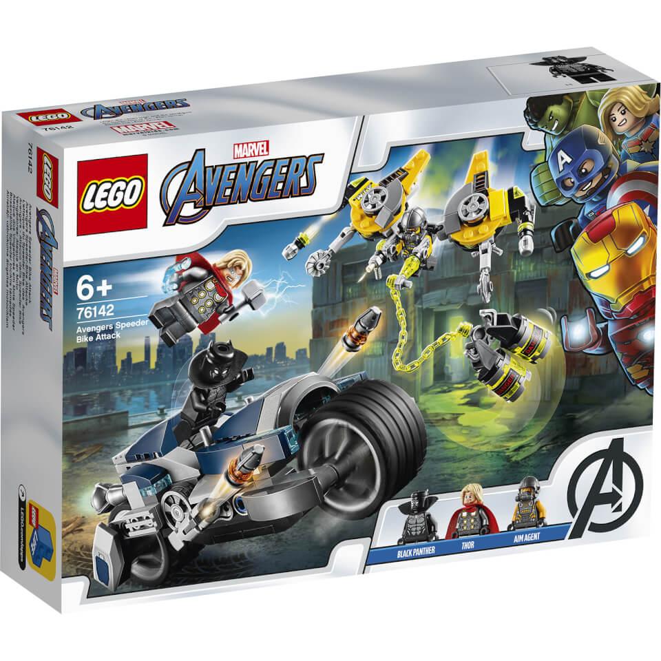 Nützlichfanartikel - LEGO Super Heroes Avengers Speeder Bike Attacke (76142) - Onlineshop Sowas Will Ich Auch