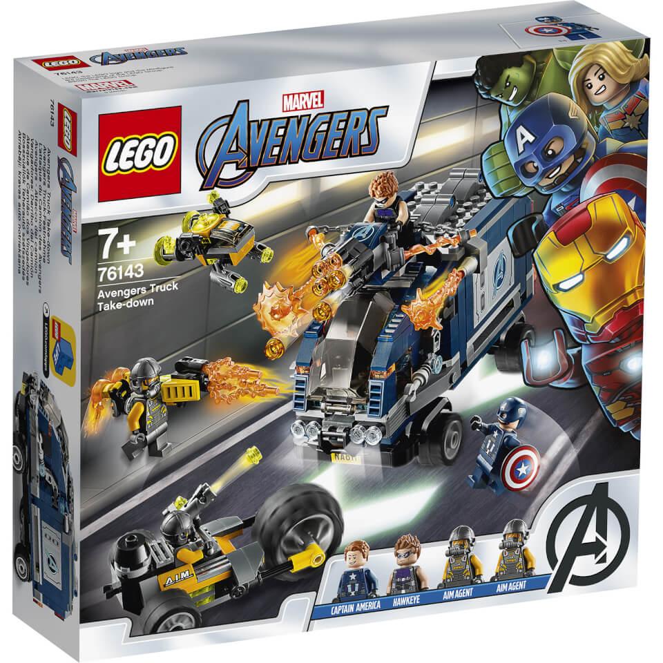 Nützlichfanartikel - LEGO Super Heroes Avengers Truck Festnahme (76143) - Onlineshop Sowas Will Ich Auch