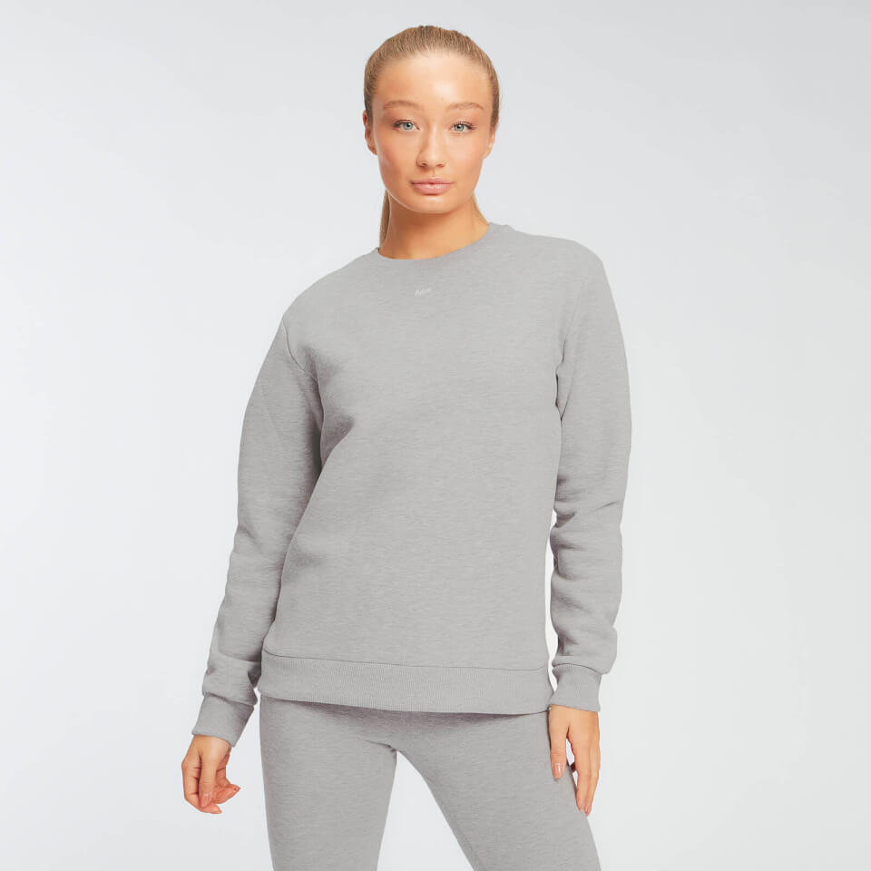 MP Essentials sweatshirt voor dames - Grijs gemêleerd - S
