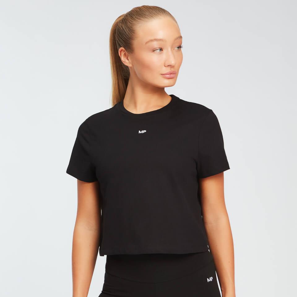 MP Essentials cropped T-shirt voor dames - Zwart - S