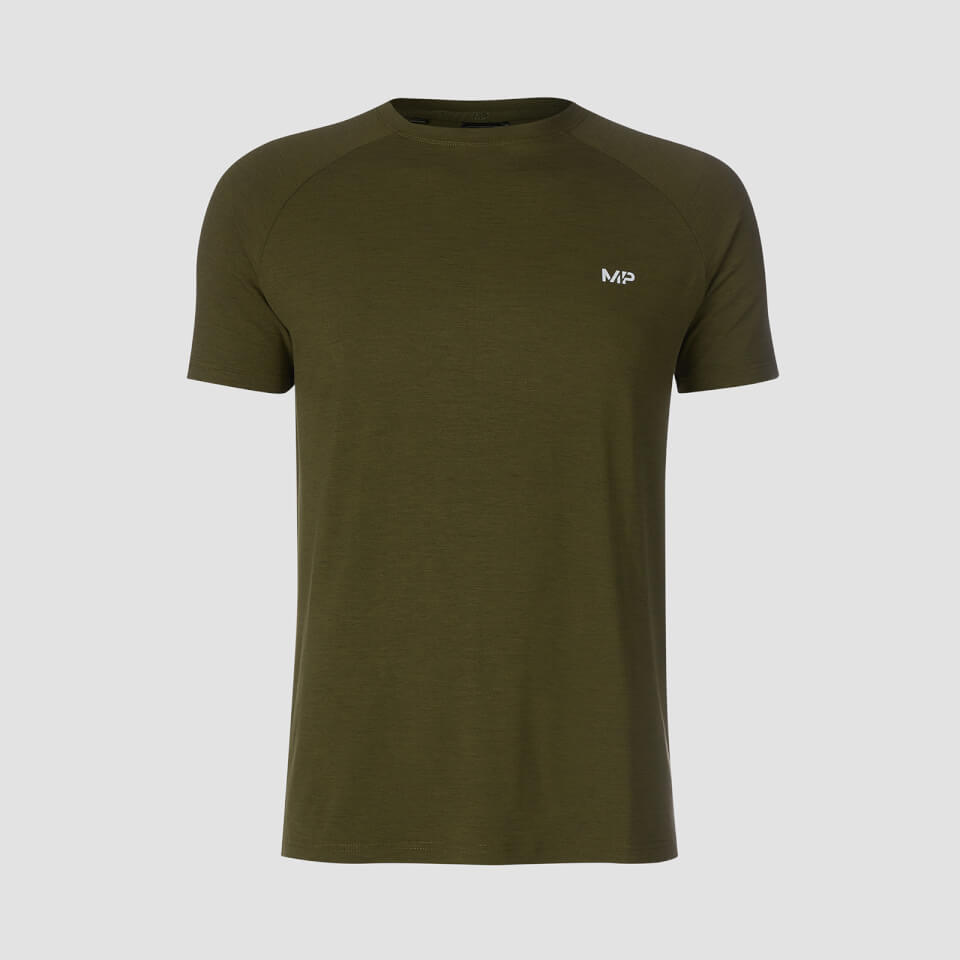 MP Performance Short Sleeve T-Shirt - Army Green/Black - XXS
