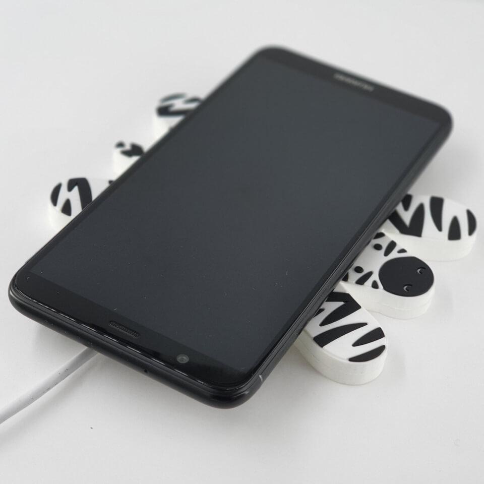Ausgefallengadgets - Mustard Zebra Wireless Phone Charger - Onlineshop Sowas Will Ich Auch
