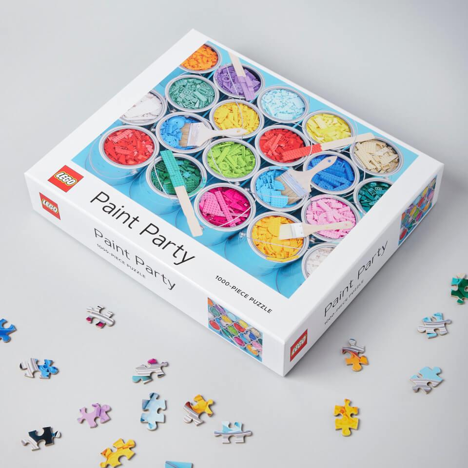 Ausgefallenkreatives - LEGO Paint Party Puzzle - Onlineshop Sowas Will Ich Auch