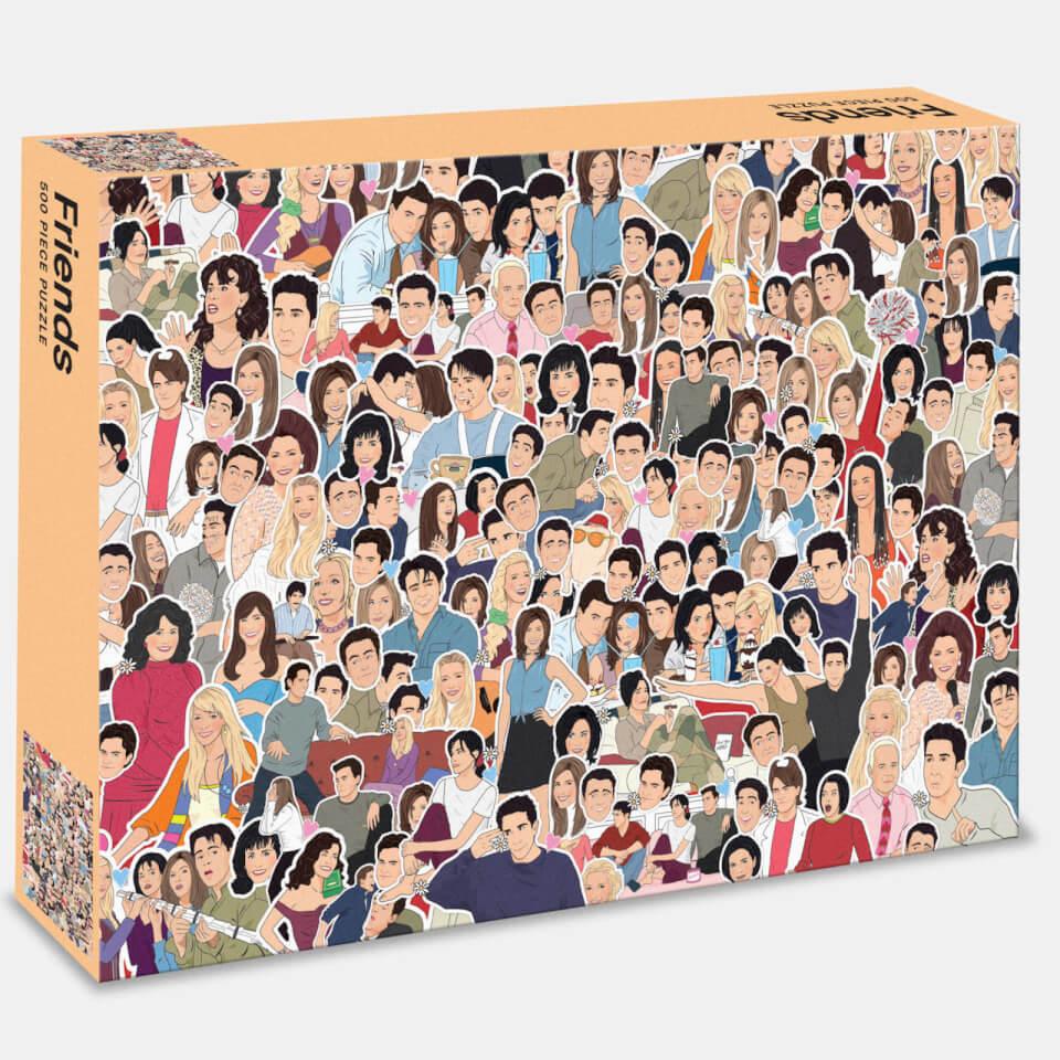 Ausgefallenkreatives - Friends 500 Piece Jigsaw Puzzle - Onlineshop Sowas Will Ich Auch