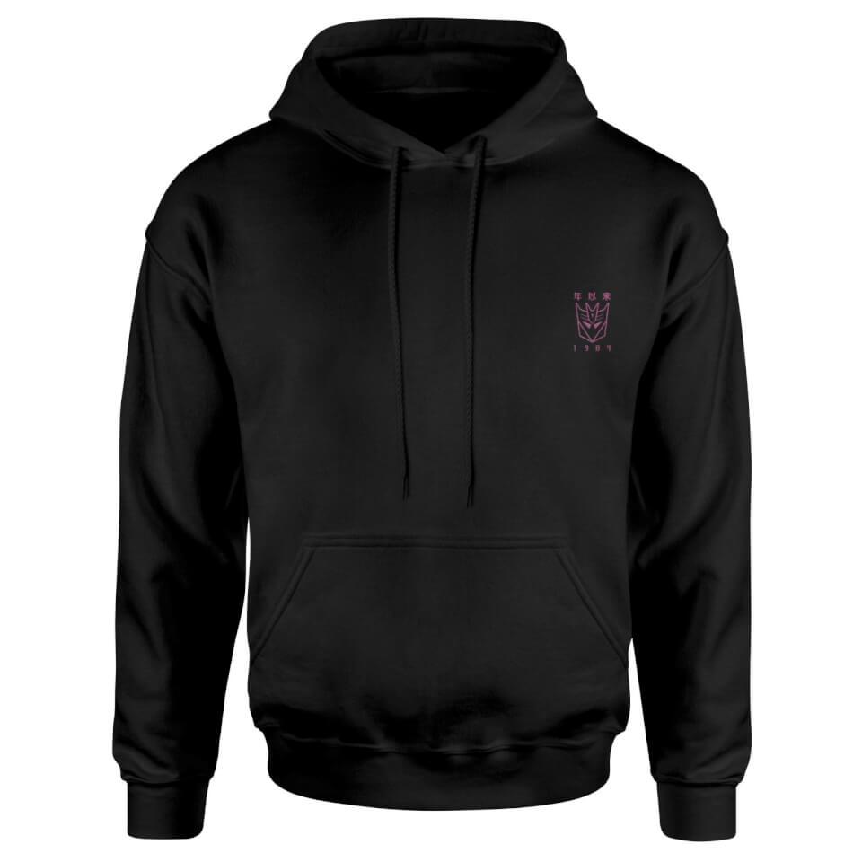 Nützlichfanartikel - Transformers Decepticons Embroidered Unisex Hoodie Black XL - Onlineshop Sowas Will Ich Auch