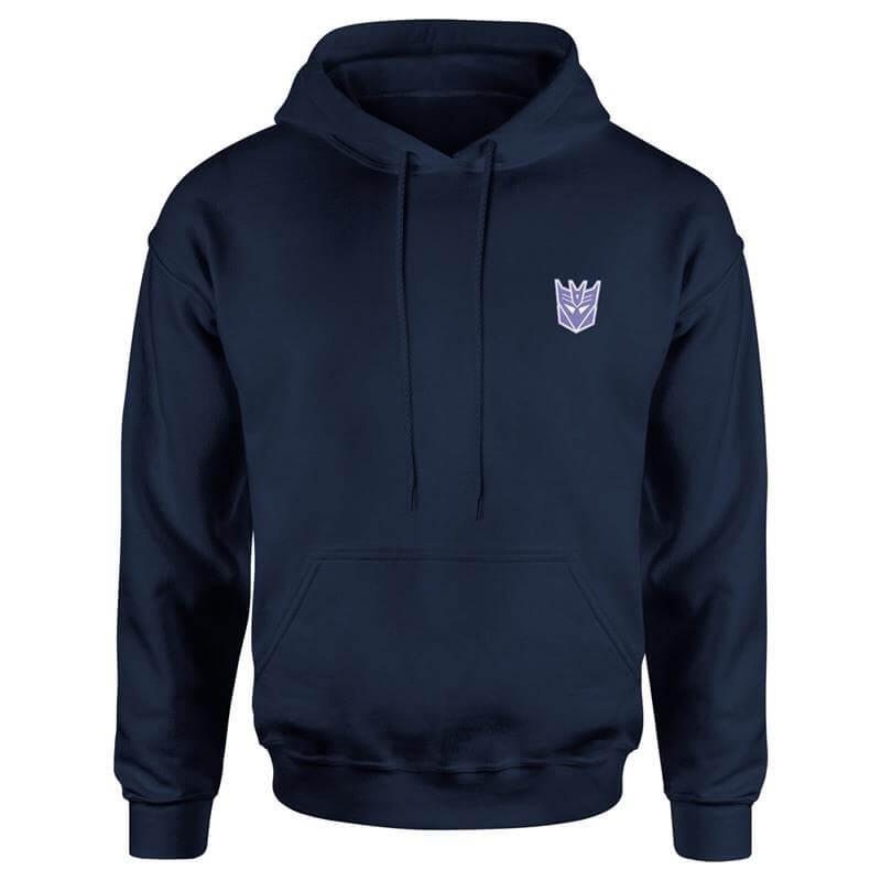 Nützlichfanartikel - Transformers Decepticons Unisex Hoodie Navy XL - Onlineshop Sowas Will Ich Auch