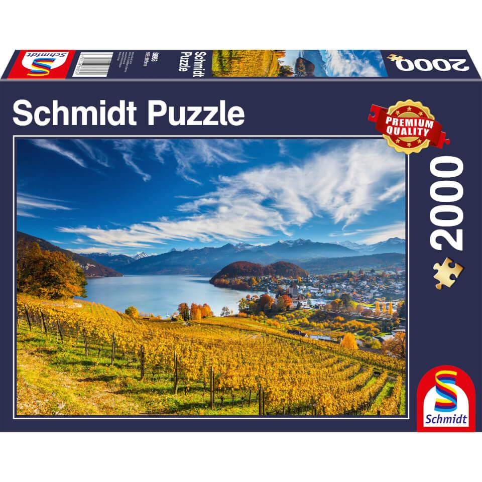 Ausgefallenkreatives - Vineyards (2000 Pieces) Puzzle - Onlineshop Sowas Will Ich Auch
