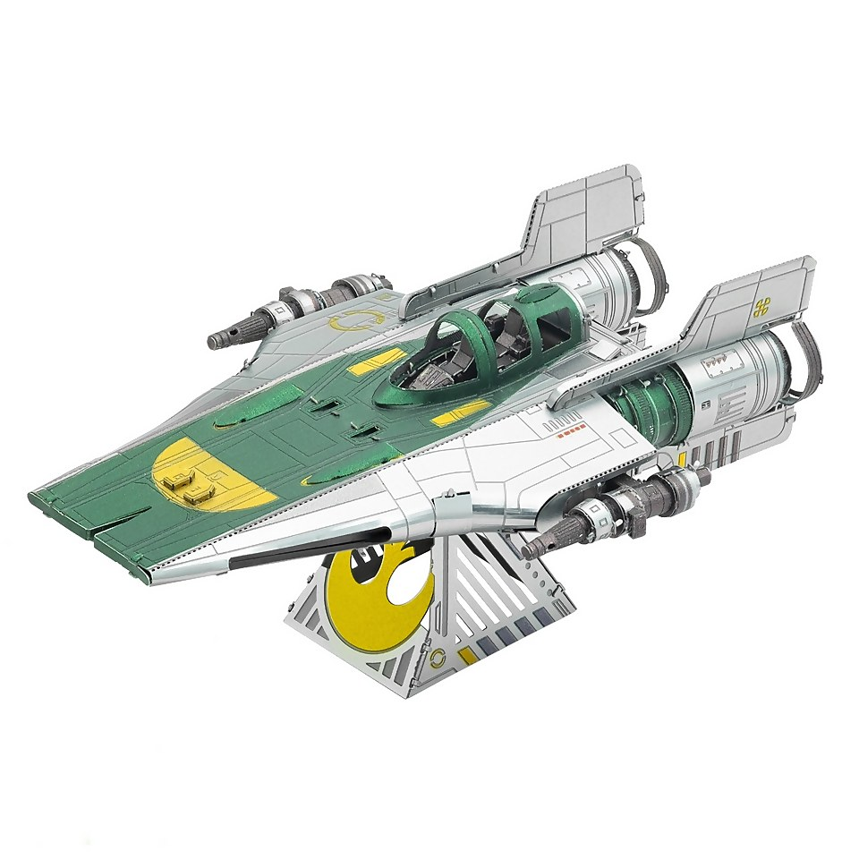 Nützlichfanartikel - Star Wars Episode 9 Metal Earth 3D Construction Kit Resistance A Wing Fighter - Onlineshop Sowas Will Ich Auch