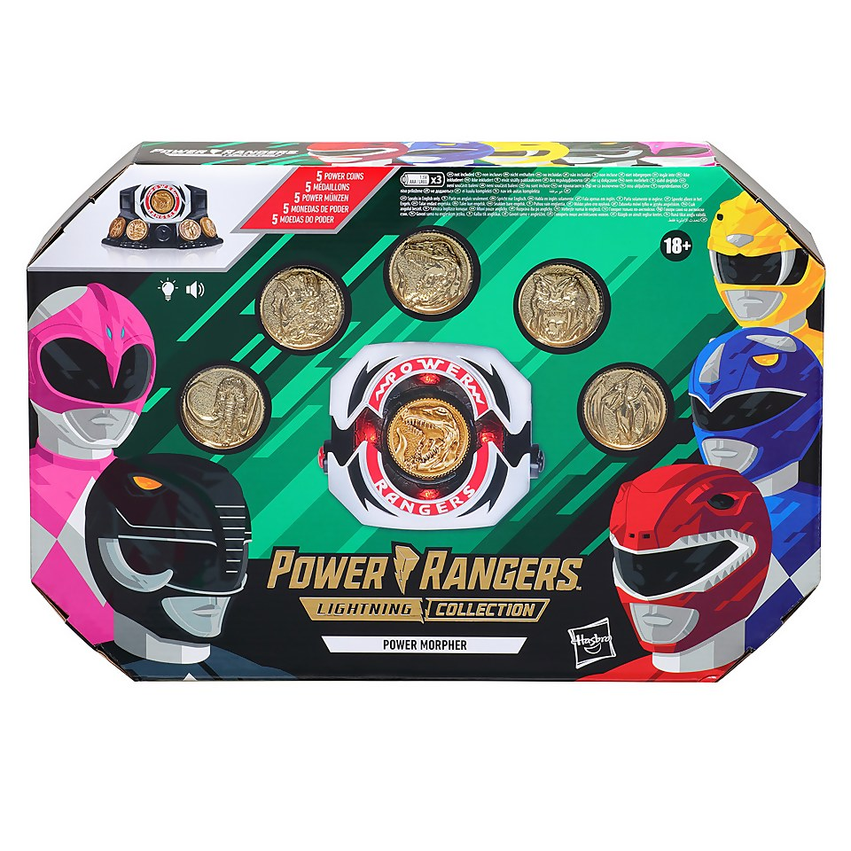 Hasbro Power Rangers Lightning Collection Mighty Morphin Power Morpher