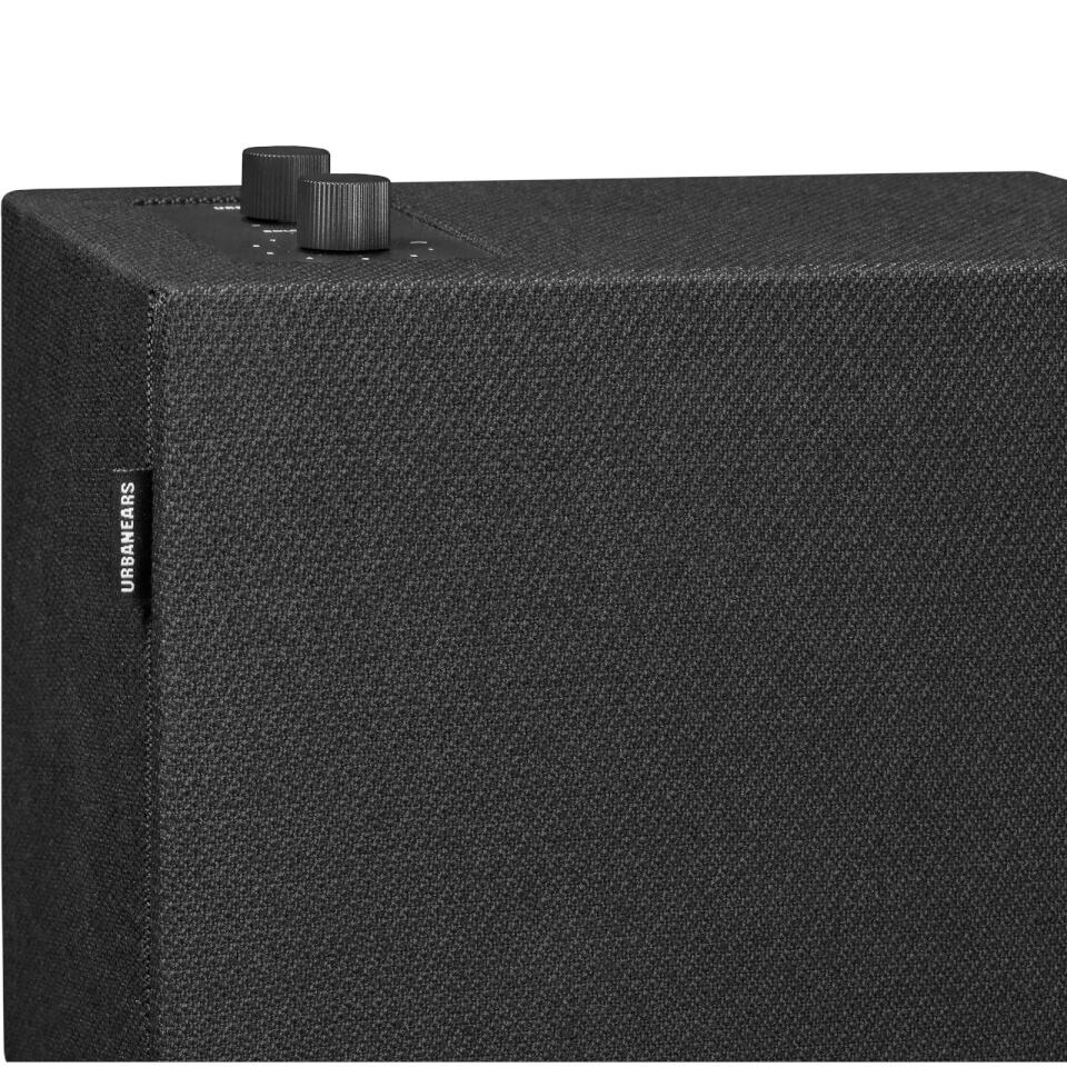 Ausgefallengadgets - Urbanears Stammen Wireless Multi Room Speaker Vinyl Black - Onlineshop Sowas Will Ich Auch